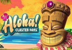 Aloha! Cluster Pays Slot Logo by NetEnt
