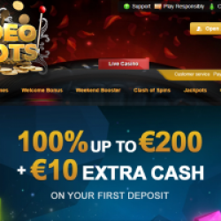 videoslots welcome bonus