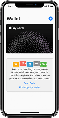 Apple Pay Wallet on iPhone