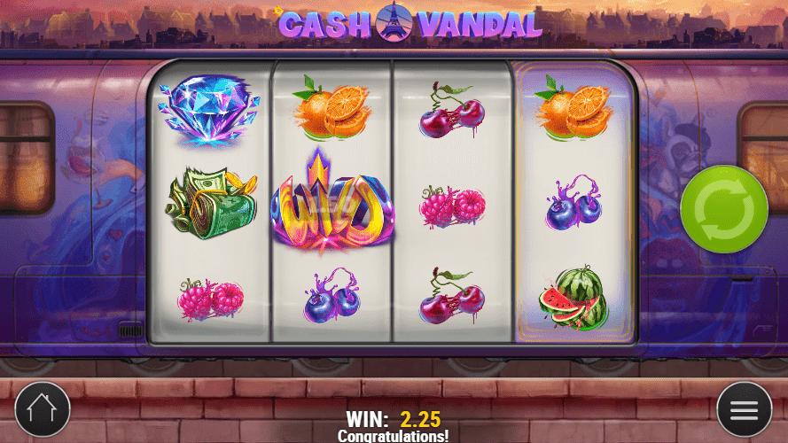 Cash Vandal Slot Gameplay 2