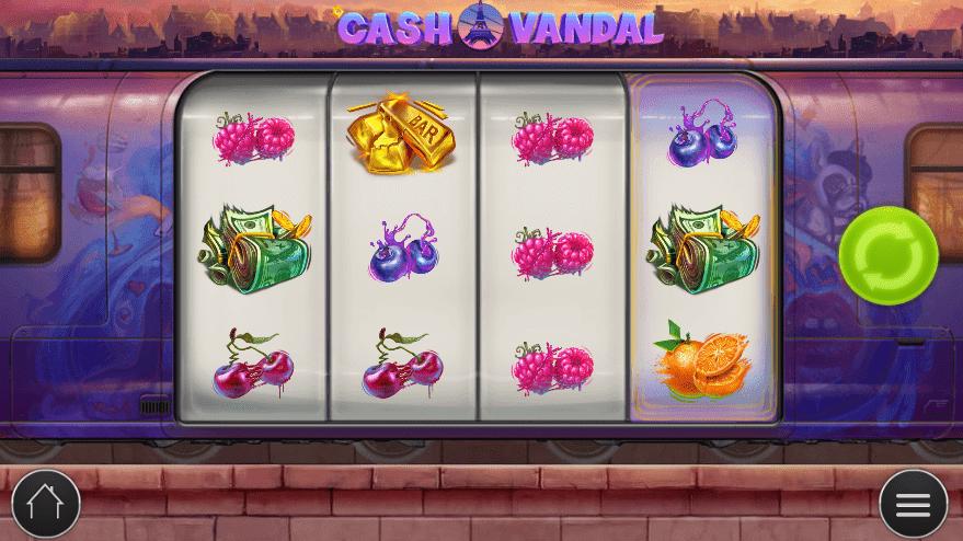 Cash Vandal Slot Gameplay
