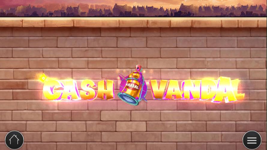 Cash Vandal Slot Logo 2