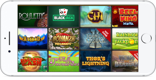 Chelsea Palace Casino Player Favourites Lobby On iPhone