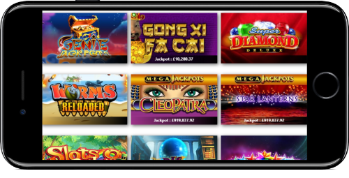 Egypt Slots Jackpot Games Lobby On iPhone