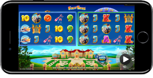 Foxin' Twins Slot Basic Gameplay On iPhone