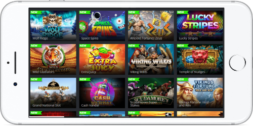 Games Lobby On iPhone