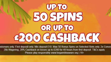 Play UK Casino Welcome Bonus Advert