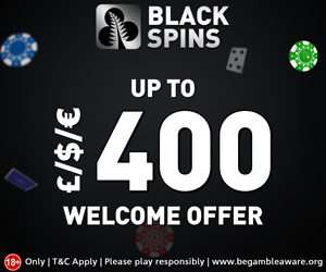 Blackspins Welcome Bonus