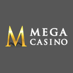Mega Casino logo featured