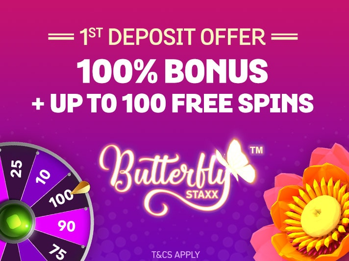 spin and win welcome bonus