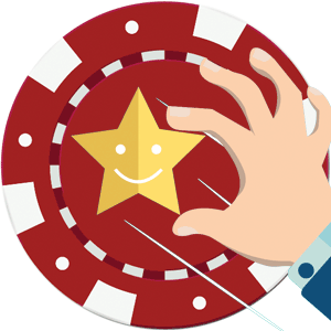 Casino reviews & rating icon